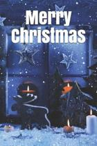 Merry Christmas Notebook, Christmas Journal, Christmas Diary, Santa Claus - One Subject - 120 Pages: lined 6x9 in