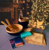 Kerstpakket of Giftbox Duurzaam - Cadeauset - Giftset - Set van 7 Duurzame Producten