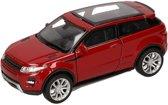 speelgoed modelauto rode Land/Range Rover Evoque auto 1:36
