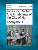 Jones vs. Rector and Inhabitants of the City of Ne