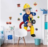 Walltastic Brandweerman Sam XXL Muursticker - 1.20 m hoog - kinderen