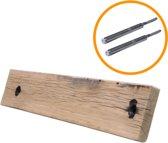 Steigerhoutpassie Blinde Plankdrager set - blinde bevestiging - Wagondeel