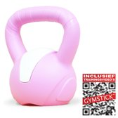 Gymstick Emotion - Kettlebell- 5 kg - Met trainingsvideo's - Roze