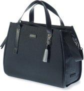 Basil Noir Business Bag Enkele Fietstas - 17l - Zwart