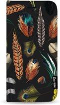 Casetastic Wallet Case Black Samsung Galaxy A50 (2019) - Feathers Multi