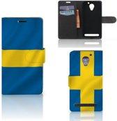 Bookstyle Case Lenovo C2 Power Zweden