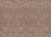 Fotobehang Red Bricks - 232 x 315 cm - Multi