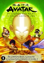 DVD cover van Avatar: De Legende Van Aang - Natie 2: Aarde Box