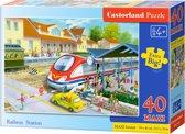 Railway Station puzzel 40 maxi stukjes