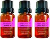 Etherische Olien | Lavendel olie | Essential oils | Essentiele olie | Geurolie | 3 flesjes (30ML) | Lavendel Oil| Etherische olie | Aromatherapie | Oil diffuser