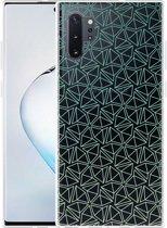 Galaxy Note 10 Plus Hoesje Triangles
