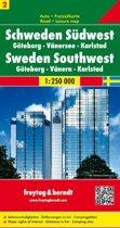 FB Zweden, blad 2 Zuidwest • Göteborg • Vänermeer • Karlstad