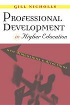 Professional Development in Higher Education