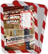 2x Tarifold tas met magnetische rug, A4, rood/wit, pak a 2 stuks