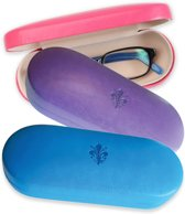 Brillendoos - Violet | Glasses - Sunglasses Case Rigid - Violet  | Lily Collection