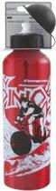 Mighty Aluminium drinkfles abo 750 rood met opdruk