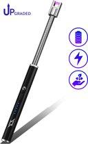 SuperLit – Elektrische Aansteker Telescopisch | Oplaadbare Plasma Aansteker | Flexibele BBQ Aansteker | Lange Aansteker met Telescopische Steel | Giftbox