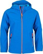 Icepeak Kinross Softshell  Outdoorjas - Maat 152  - Unisex - blauw