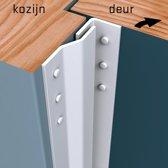 Secustrip Basic binnendraaiend wit lengte 2050mm SKG* 1010.110.02
