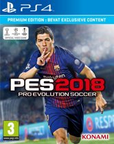 Pro Evolution Soccer (PES) 2018 - Premium Edition /PS4