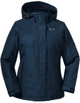 Jack Wolfskin Majestic Bay Jacket - dames - 3-in-1 winterjas - XL - blauw