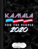 Kamala Harris for the People Composition Notebook