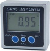 Digitale hoekmeter | inclinometer | meetbereik 0-360°