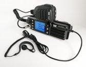 Team FX CB Mobile 27mc radio 12-24 volt DIN norm en VOX