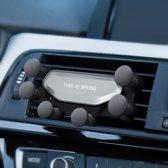 This is Spring Universele Telefoonhouder 2019 | Handsfee rijden | Veilige Telefoonhouder | Smartphone Vastzetten in Auto | GSM | Ventilatierooster | Universeel |Originele Cadeau | Apple iPhone - Asus - Sony Xperia - Nokia - Samsung - Grijs