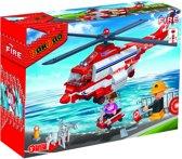 BanBao Brandweer Brandweer Helikopter - 8315