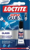 Loctite Glass Glaslijm Glas lijm - 3 ml