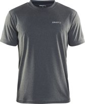 Craft Prime Tee Sportshirt Heren - Grey Melange