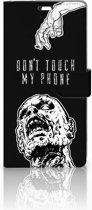 Sony Xperia C5 Ultra Uniek Boekhoesje Zombie