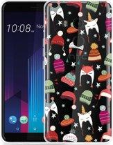 HTC U11 Plus Hoesje Winter Hats