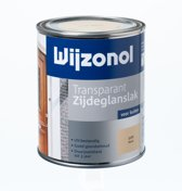 Wijzonol Transparant Zijdeglanslak - 0,75l - 3105 - Grenen