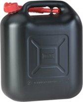 jerrycan zwart voor benzine 20 liter
