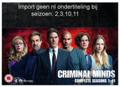 Criminal Minds - Seasons 1-11