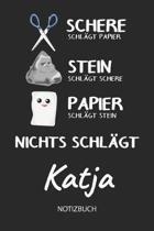 Nichts schl gt - Katja - Notizbuch