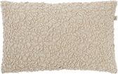 Dutch Decor Mosca Sierkussen - 30x50 cm - Zand