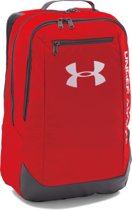 Under Armour Hustle Backpack LDWR Backpack Heren - Red - Maat One Size