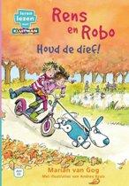 Leren lezen met Kluitman - Rens en Robo 2: Houd de dief!