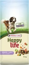 Happy Life Light Senior - Kip - Hondenvoer - 15 kg