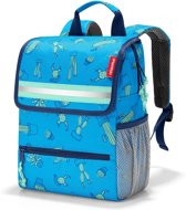 Reisenthel Backpack Kids Rugzak - Polyester - 5L - Cactus Blue Blauw