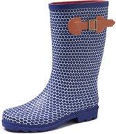 Gevavi Boots Abby Blauw Regenlaarzen Rubber Dames 38