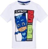 PJ-Masks-T-shirt-met-korte-mouw-wit-maat-104