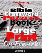 Large Print Bible Crossword Puzzle Book