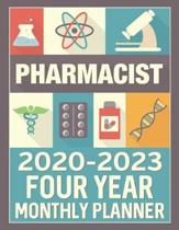 Pharmacist 2020 - 2023 Four Year Monthly Planner: Calendar, Notebook and More
