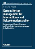 Kosten/Nutzen-Management F r Informations- Und Dokumentationsstellen