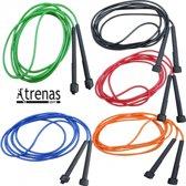 Vinex - Speedrope - Springtouw - 300 cm - set van 10 touwen - Kunststof - mix kleuren