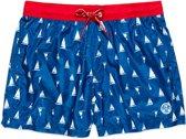 North Sails Zwembroek - Maat 34  - Mannen - blauw/rood/wit